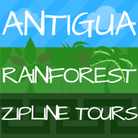Antigua Rainforest Zipline Tours.